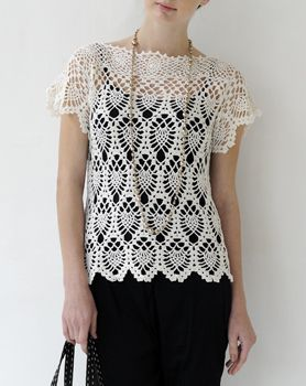 crochet tunic Pullover #newclothes #topmode #Pullover #alice257891 #newstyle #womenwinter www.2dayslook.com