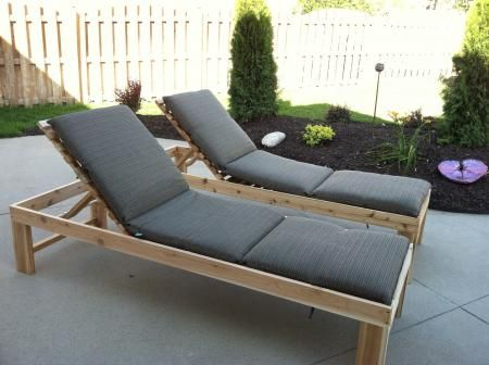 Do Yourself Outdoor Projects | Outdoor Chaise Lounge | Do It Yourself Home Projects from Ana White