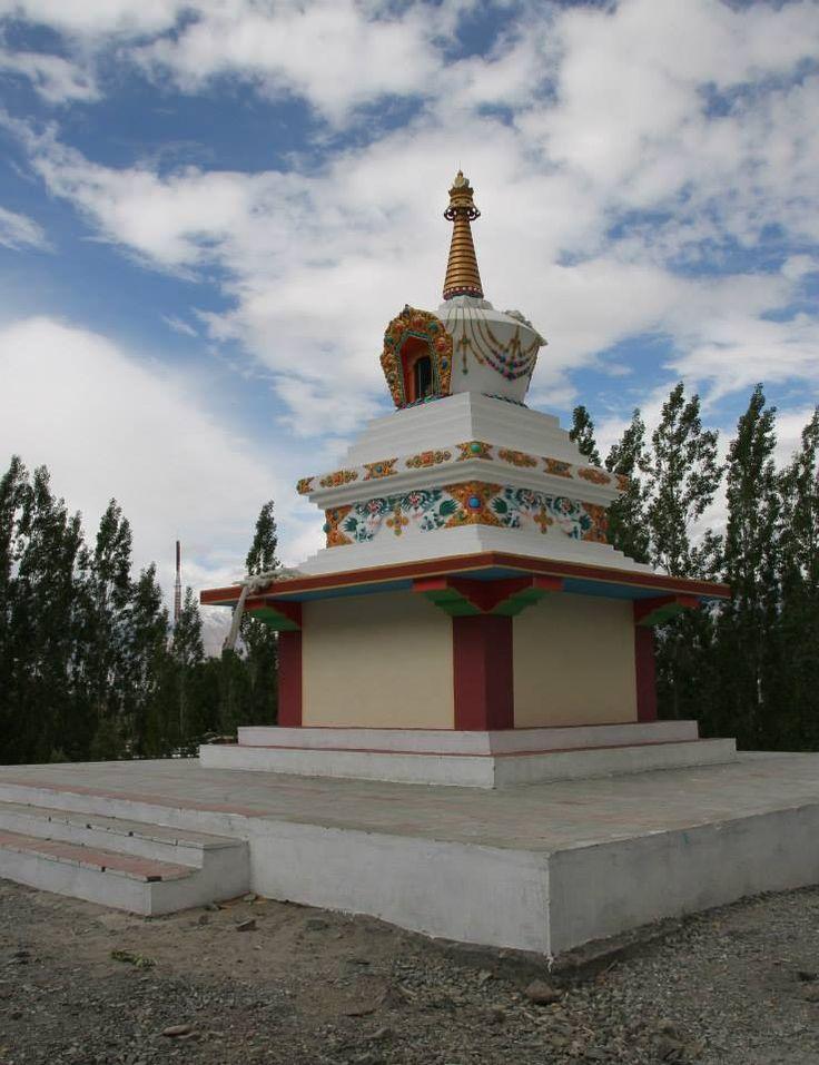 Magnificent Lakakh, #India - Buddhist Stupa in Ladakh #Travel
