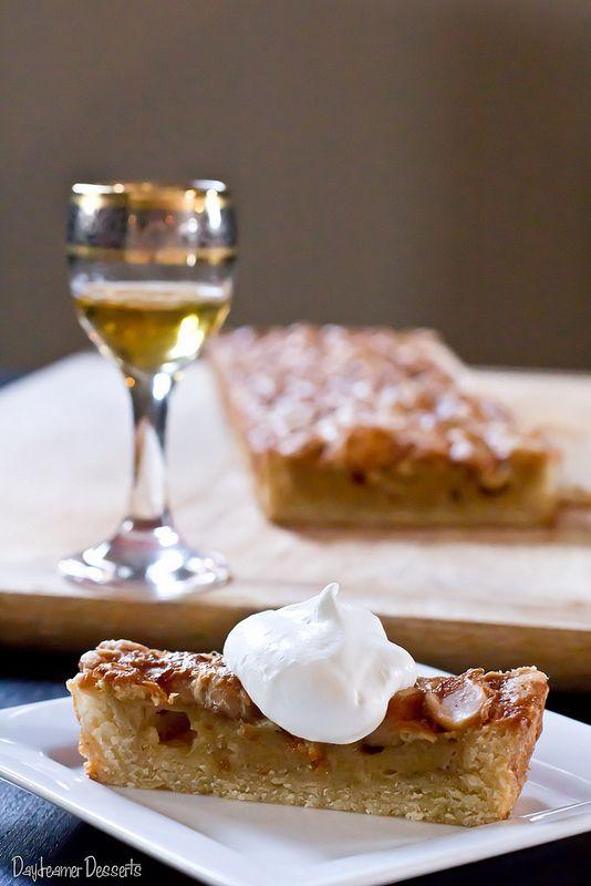 White Chocolate Maple Macadamia Tart | Cakes | Pinterest