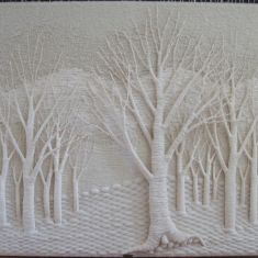 Fiber woven art- Gloria McRoberts