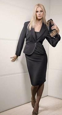 Фасоны делового женского костюма