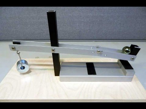 Perpetual Motion. Shifted Levers - YouTube