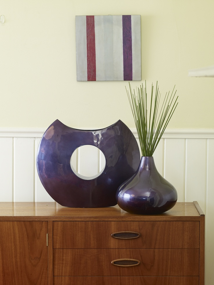 Warm it up with some winter LUXE! Costa Del Sol cut out & tear drop vase.