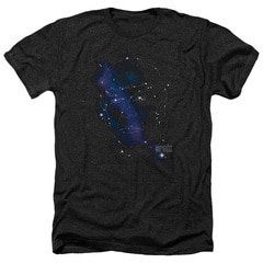Star Trek Spock Constellation Heather T-Shirt Shop Star Trek Spock Constellation Heather T-Shirt Officially Licensed. Available on many styles, sizes, and colors.