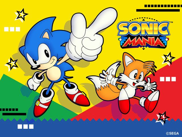 "Original Sonic Character Designer Whips Up Some ""Sonic Mania"" Art"