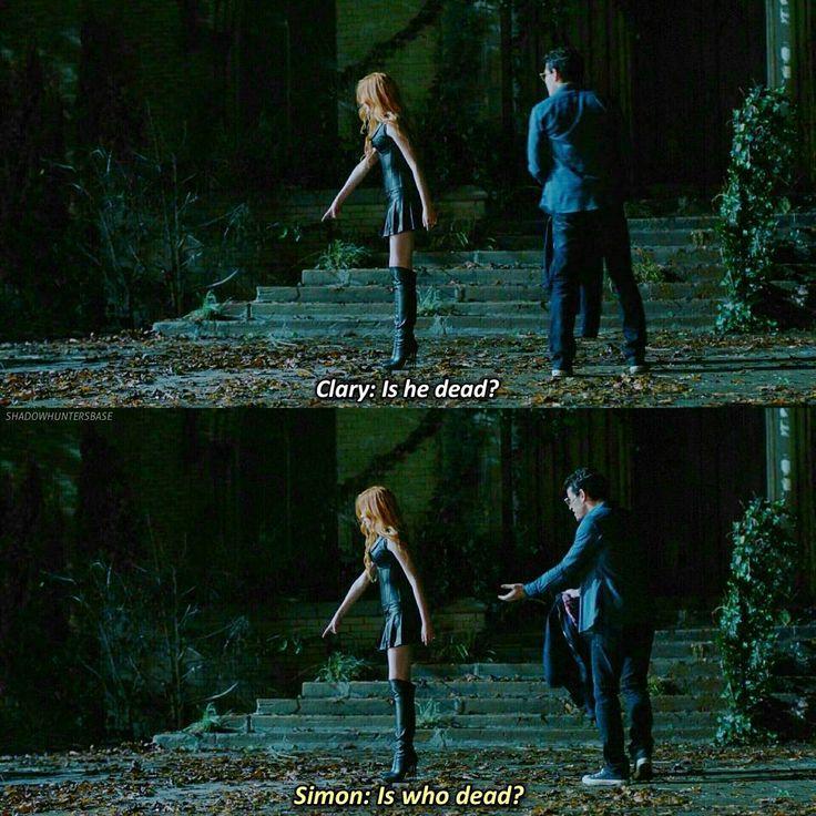 Season 1 Episode 1: Clary and Simon
