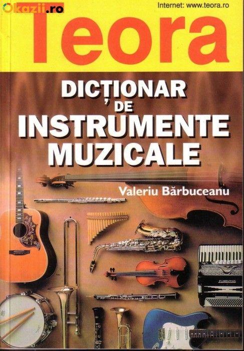 Dictionar de instrumente muzicale foto mare
