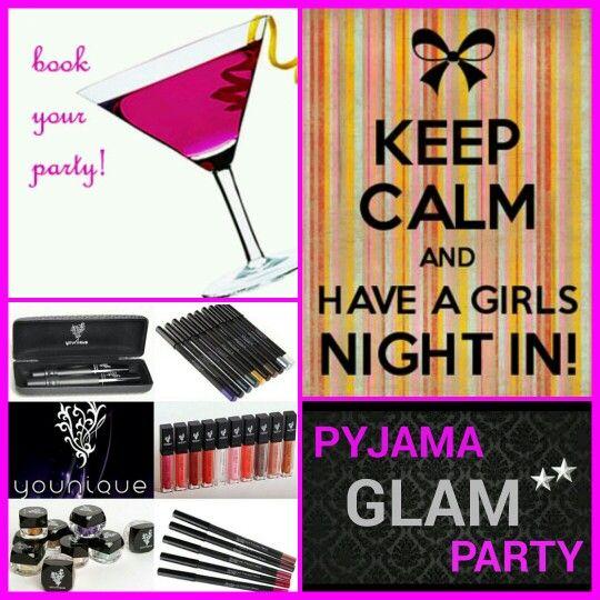 GLAM JAM...Girls Night IN!