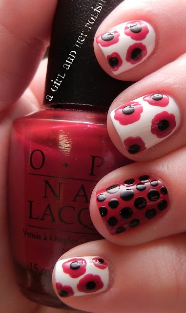 A Girl and Her Polish: Rememberance Day Nails