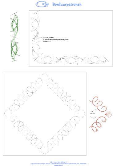 Borduurpatronen / stitching sheets
