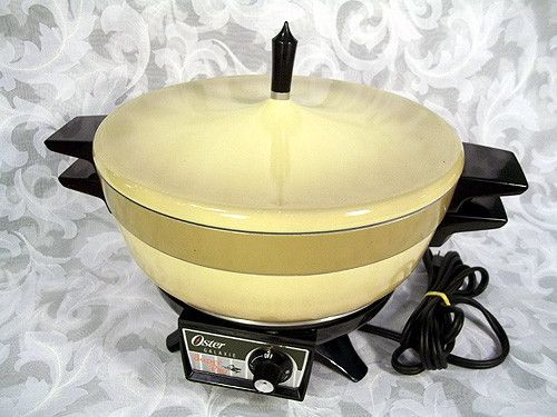 59 99 Vintage Oster Galaxie Super Pan Harvest Gold With 6