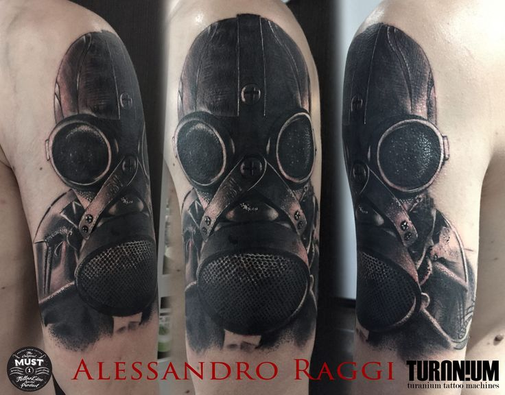 Realistic Tattoo Black and gray Artist: Alessandro Raggi Ink Addicted Savona Italy