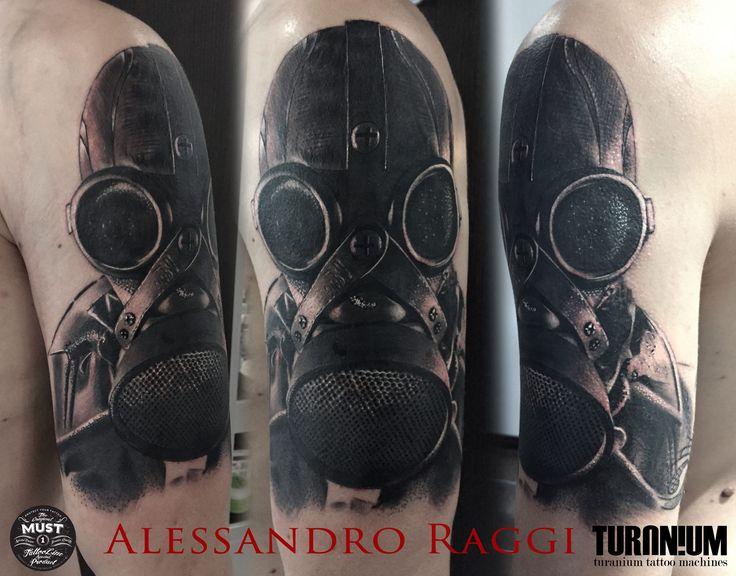 Realistic Tattoo Black and gray Artist: Alessandro Raggi Ink Addicted Savona Italy