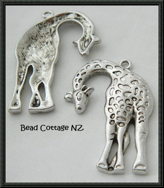 Giraffe Charms/Pendants: Large