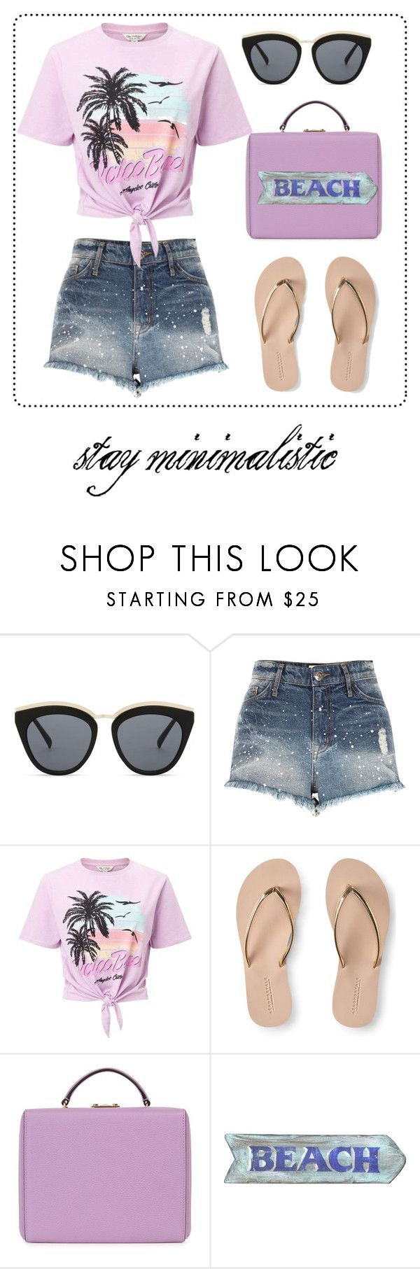 """""""stay minimalistic #001"""" by cissyloveshogwarts on Polyvore featuring Mode, Le Specs, River Island, Miss Selfridge, Aéropostale und Mark Cross"""