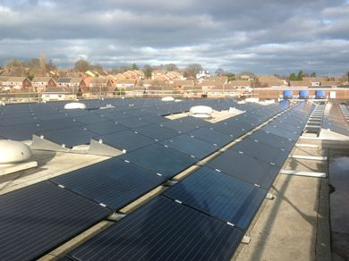 Solar PV Flintshire Council
