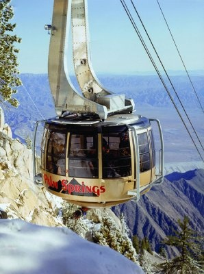 Palm Springs Aerial Tramway: Take in 360-degree views as you ascend the sheer cliffs of Chino Canyon.