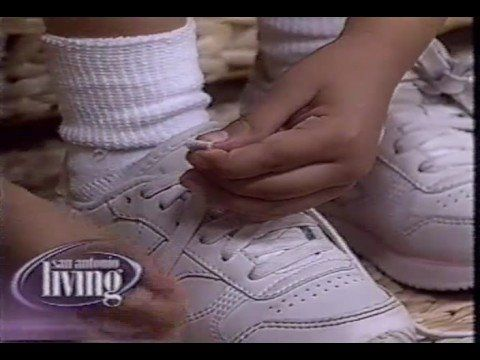 Teach a child to tie their shoes in less than 5 minutes