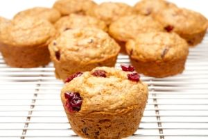 Chia cranberry Muffins