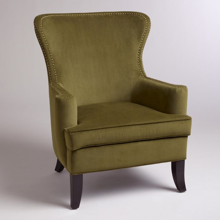 Not sure about the color. But silhouette? Caper Elliott Wingback Chair-Caper Elliott Wingback Chair | World Market