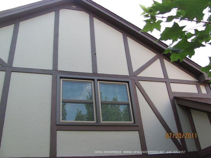 10 best images about james hardie tudor homes on pinterest for Tudor siding panels