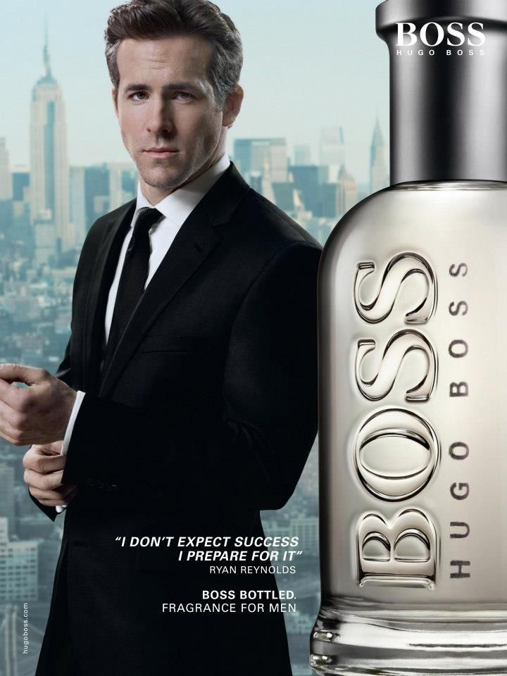 Ryan Reynolds Scores a Fragrance Campaign Trio for Hugo Boss