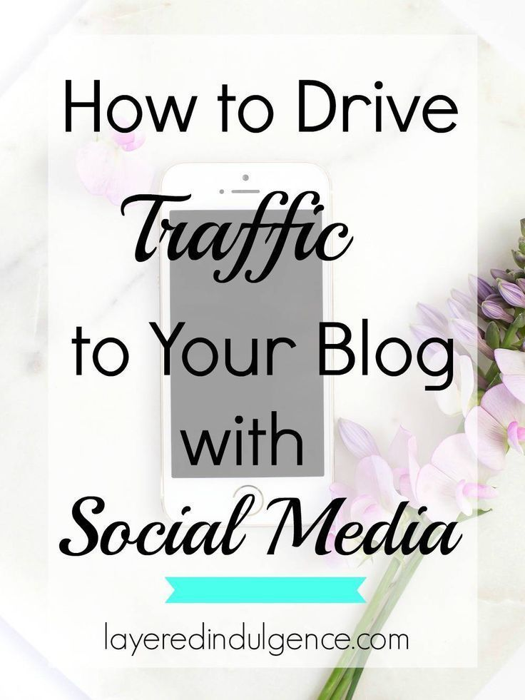 How to Drive Traffic to Your Blog with Social Media: Are you in a rut when it comes to getting more blog traffic? Social media platforms like Pinterest and Facebook are a sure fire way to increase your pageviews and boost your traffic. Grow your blog with my fool proof tips! Click to read the post now or save it for later!