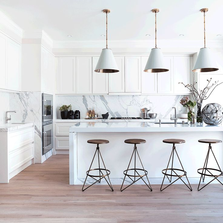 "101 Likes, 2 Comments - Cottages & Gardens (@cottagesgardens) on Instagram: ""Countdown to #CGInsiderKBIS Designer Jeff Schlarb chose light, understated materials to achieve…"""