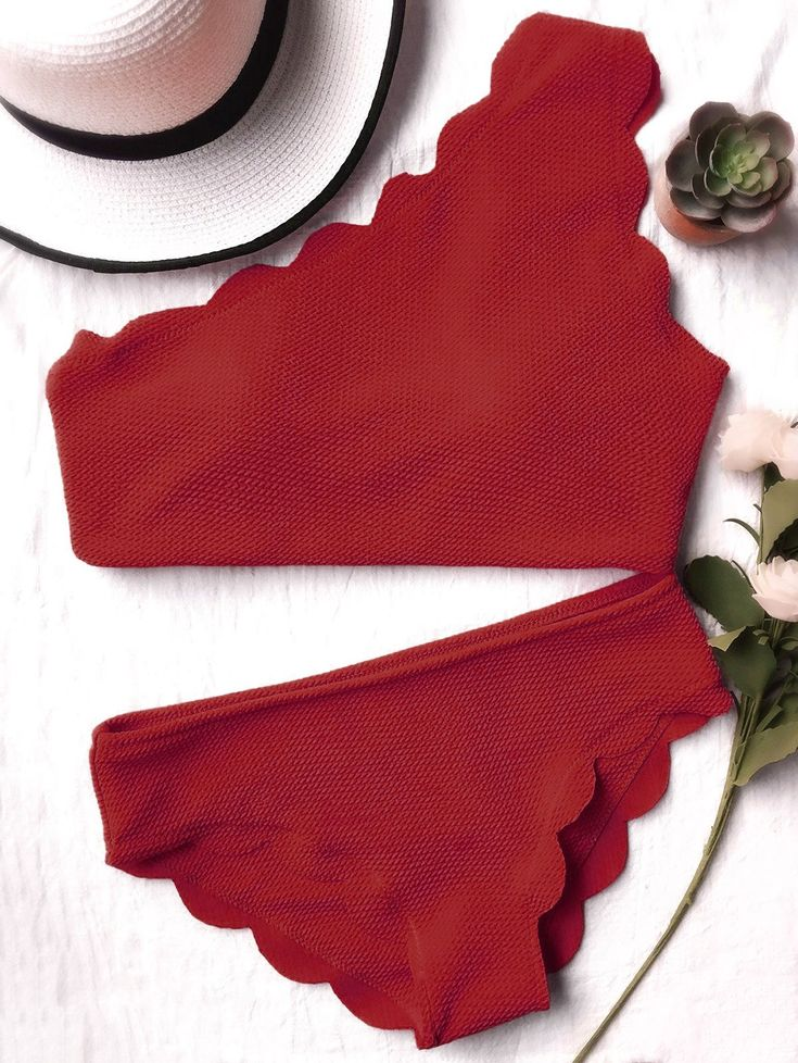 Best 25 One Shoulder Bikini Ideas On Pinterest Orange