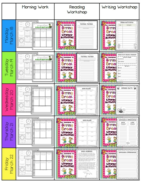 12 best Visual Lesson Plans images on Pinterest Classroom decor - work plan