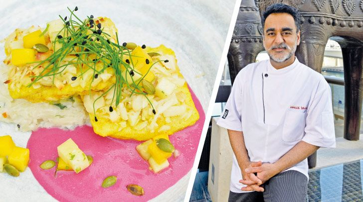 Cooking with trail-blazing Michelin-starred Chef Vineet Bhatia