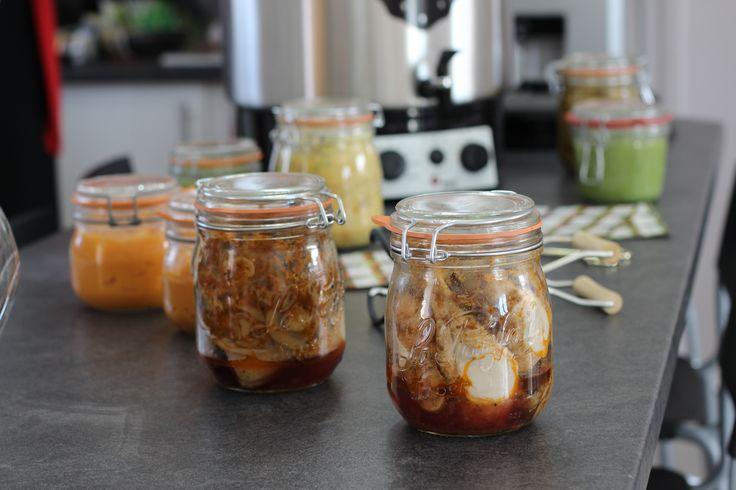 17 best images about conserves en bocaux st rilisation on pinterest simple toms and gelee - Sterilisation plats cuisines bocaux ...