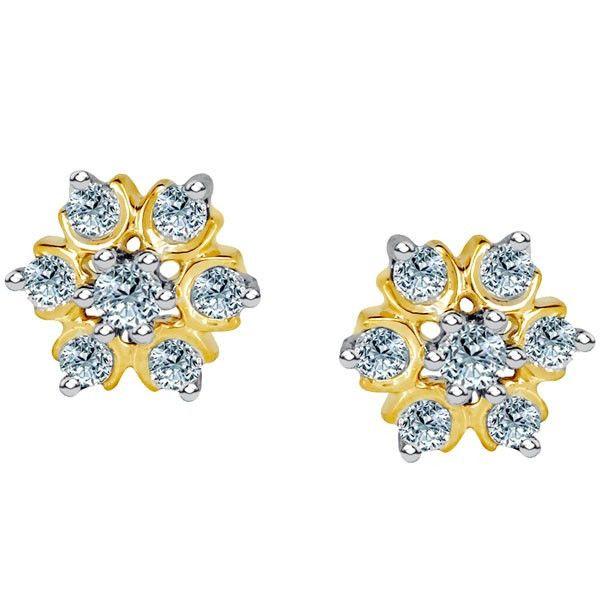 Nakshatra Diamond Earring NERA031BSI-GH