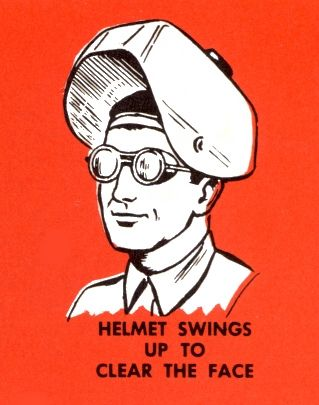 Helmet Swings Up to Clear the Face by Todd Ehlers, via Flickr