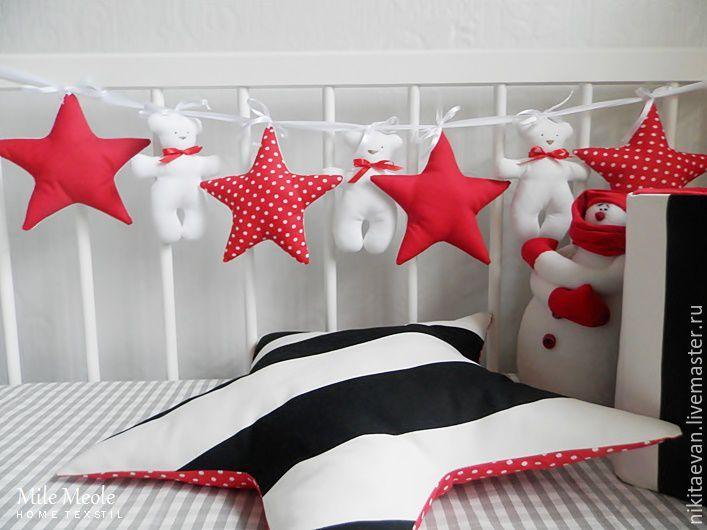 Купить Гирлянда для детской - разноцветный, гирлянда из флажков, гирлянда для фотосессии, гирлянда, флажки для праздника