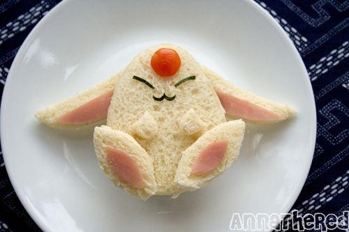 easter Bunny Sandwich