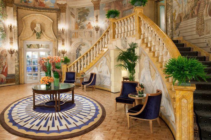 The Pierre | Hotel design industry, unique designs, top designer brands | #hotelinteriordesign #versatiledesignstyle #passionfordesign | More: https://www.brabbucontract.com/design-ebooks