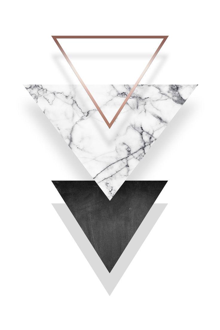 Ein Poster für Ihre Wände!  #kunstdruck #poster #triangle