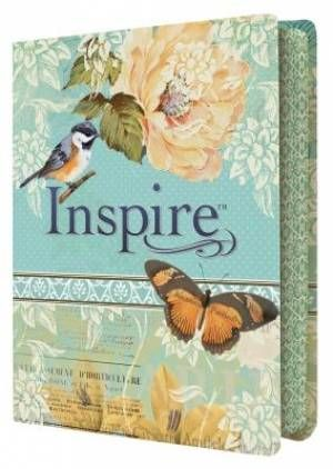 NLT Inspire Colouring Bible - Winner of Bible of the Year