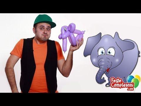 Elefante Palloncino - Sculture con Palloncini - Tutorial 35 - Feste Compleanni - YouTube