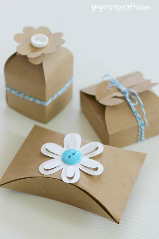 Diy paper boxes at today 39 s craft for Paper containers diy
