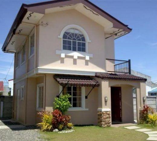 Casita fachada bonita paletas de colores pinterest for Fachada casa clasica