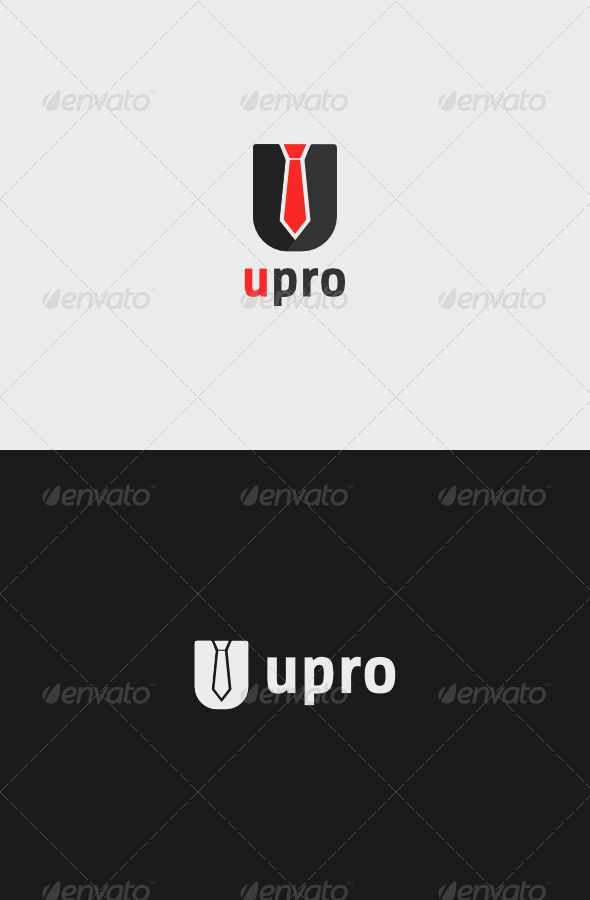 U Pro Logo A simple logo template
