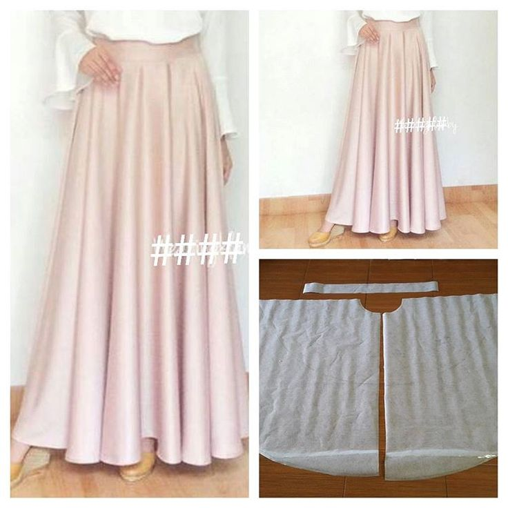 Super flare skirt pattern