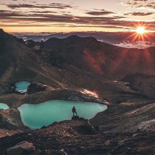 An epic sunrise on the Tongariro Crossing. (@ryan_domenico) via Canon on Instagram - #photographer #photography #photo #instapic #instagram #photofreak #photolover #nikon #canon #leica #hasselblad #polaroid #shutterbug #camera #dslr #visualarts #inspiration #artistic #creative #creativity