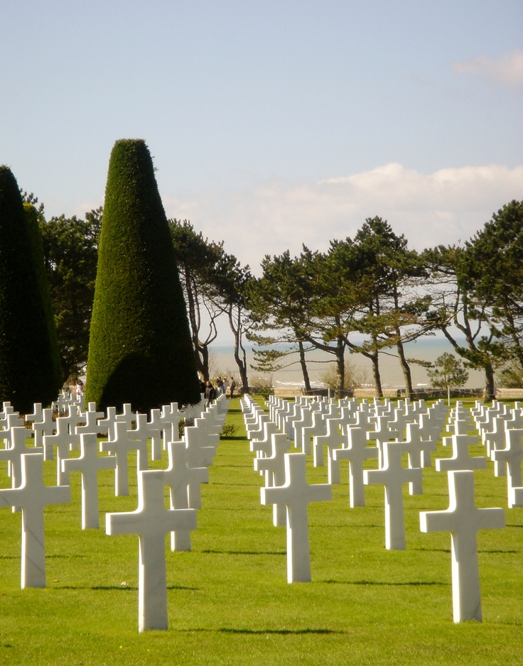 The American Cemetery in Normandy France was beautiful. It was an honor visiting and paying our respects to our fallen soldiers.