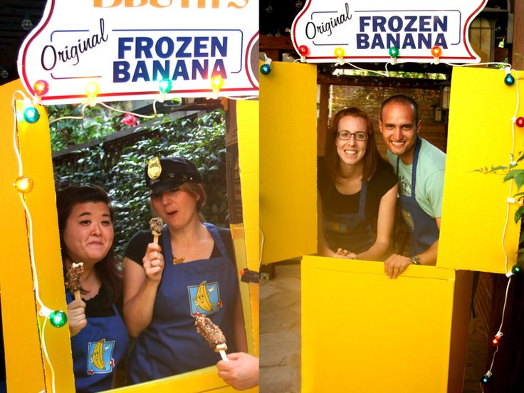 Arrested Development Banana Stand Photobooth how to.