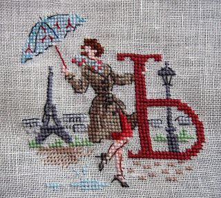 Алфавит Парижанки по-русски от  Les Brodeuses Parisiennes