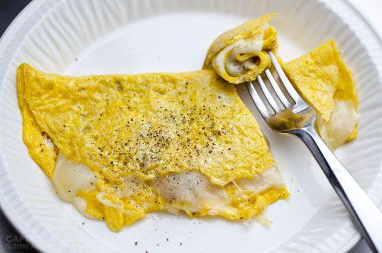 Fit Kızın Yemek Kitabı: Hafif kaşarlı omlet - 188 kkal/100g